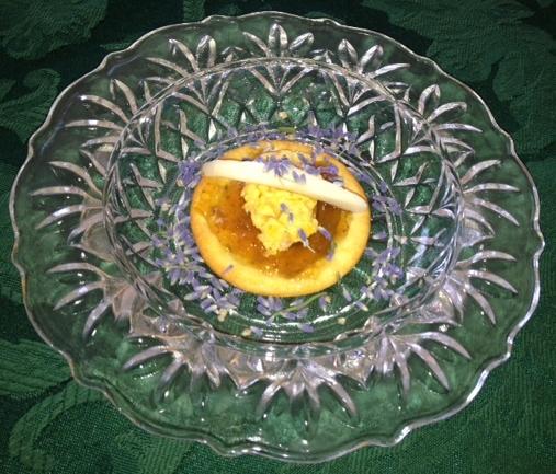 Apricot lavender spread